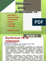 Kurikulum & Bahan Belajar Tk