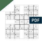 Sudoku Mariposa