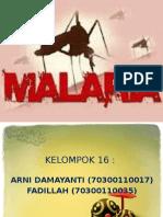 Ppt Malaria
