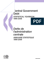 Central Government Debt - Statistical Yearbook 2009