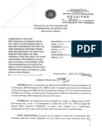 General Instructions for BEI (COMELEC Resolution No. 10088)
