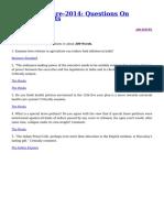 GS paper3 UPSC study material