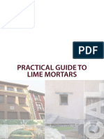 Practical Guide to Lime Mortars