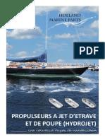 Brochure Jet Thruster en Langue Française (FR)