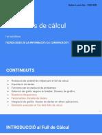 UD 4. Fulls de Càlcul