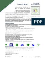 Xsilon HAN250 Hanadu modem family - Product brief - April 2015