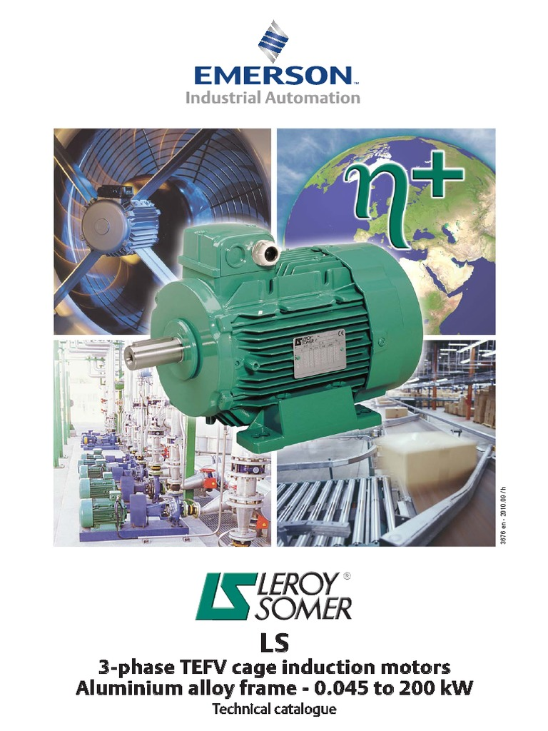 Leroy Somer Electrical Motor | Bearing (Mechanical) | International ...