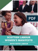 Manifesto for Women 2016