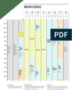 Immersion Schedule 10.14