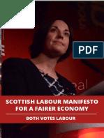 Manifesto for a Fairer Economy 2016