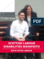 Our Disabilities Manifesto 2016