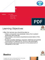 Core Lecture Knee Orthopedics