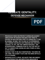 Celibate Genitality