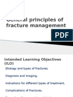 General Principles of Fracture Managment