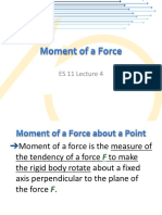 4 - Moment of a Force