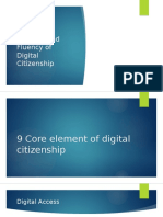 9 Core Element of Digital Citizenship