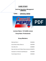 Case Study_Crystal Pepsi Failure