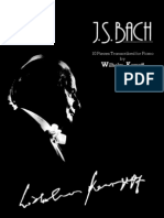 Kempff (Bach) - 10 Pieces for Piano, 1[Pf]