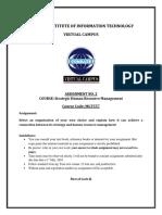 Mgt557 Shrm Assignment 2