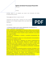 10 Principais Julgados Dir Processual Penal 2015