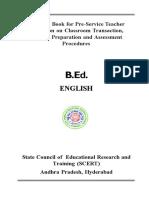 English B.ed.