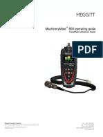 MachineryMate 800 Opmanual (91398)