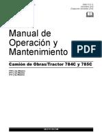 Manual de Operación y Mantenimiento 785C.pdf