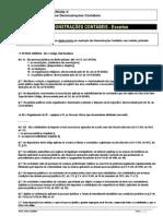 Contabilidade - Demonstrações Contábeis - Excertos