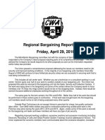 MidAtlantic Regional Bargaining Report #67 -G