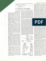 Student Politics in Shanghai 1975-76