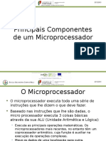 Principais Componentes Microprocessador