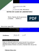 Notas de Clase 2 Raices ecuaciones no lineales  Parte1