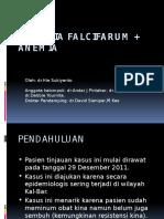 MALARIA FALCIFARUM + ANEMIA