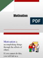 Topic 4 - Motivation(1)