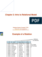 intro to relational models