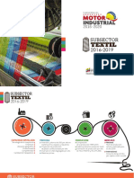 Motor Industrial. Subsector Textil