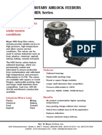 HDX Rotary Airlock Bulletin