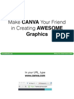 Creating AMAZING Graphics Through Canva