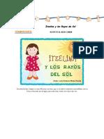 Itzelina y los rayos del sol