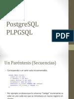PostgreSQL - PLPGSQL