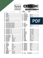 target slider list