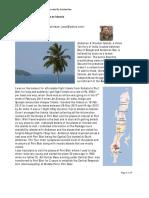 Travelogue ATripToAndamanIslands.by.ArindamBasu [UsAb]