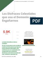 Los Disfraces Celestiales que usa el Demonio para Engañarnos » Foros de la Virgen María.pdf