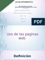 Principales Paginas Web