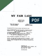 My Fair Lady Script