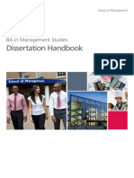 Dissertation Handbook 2015-16