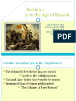 World History - The Age of Reason
