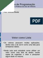 Lógica de Programação - Listas