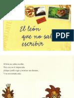 El Leon Que No Sabia Escribir-jromo05.Com