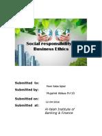 CSR & B.E